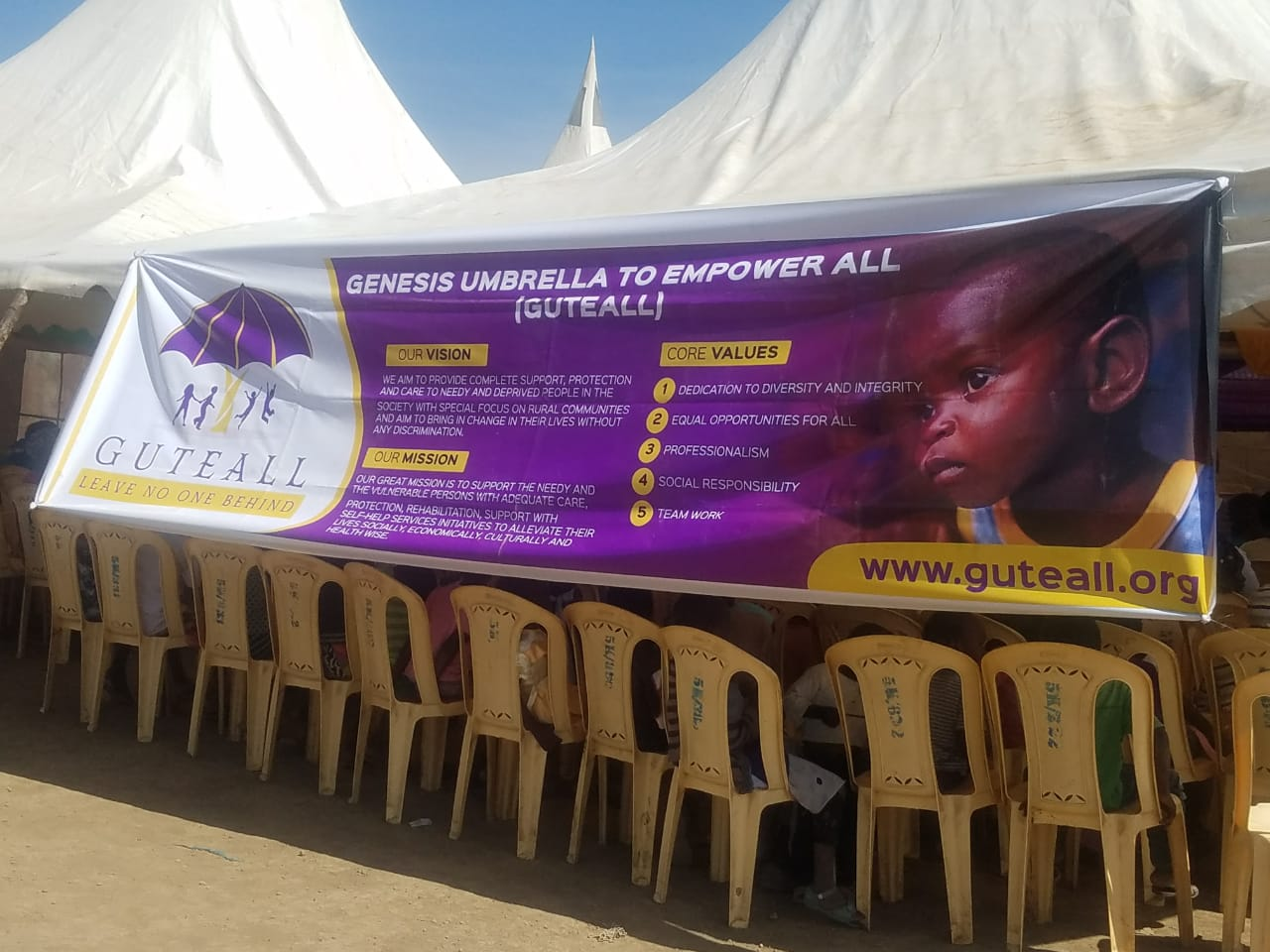 Genesis Umbrella to Empower All 10 - Guteall Medical Camp November 9, 2018