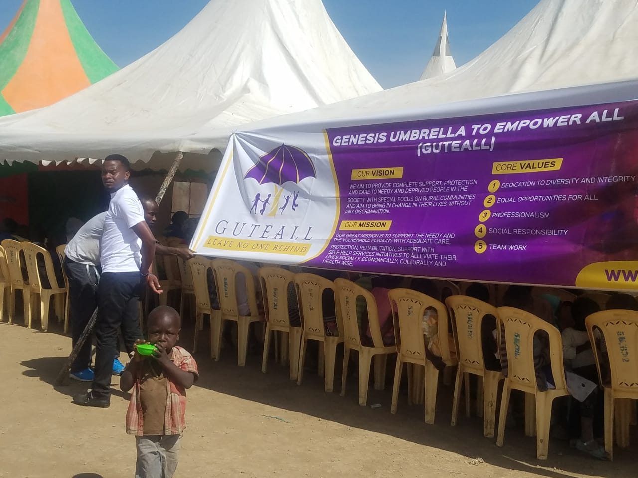 Genesis Umbrella to Empower All 9 - Guteall Medical Camp November 9, 2018