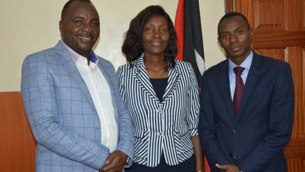 Genesis Umbrella to Empower All - GUTEALL - Jane Lucas Wangare and David Waweru Meet Speaker Joel Maina Kairu of Nakuru County 3
