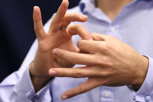 Sign Language by Genesis Umbrella To Empower All - GUTEALL
